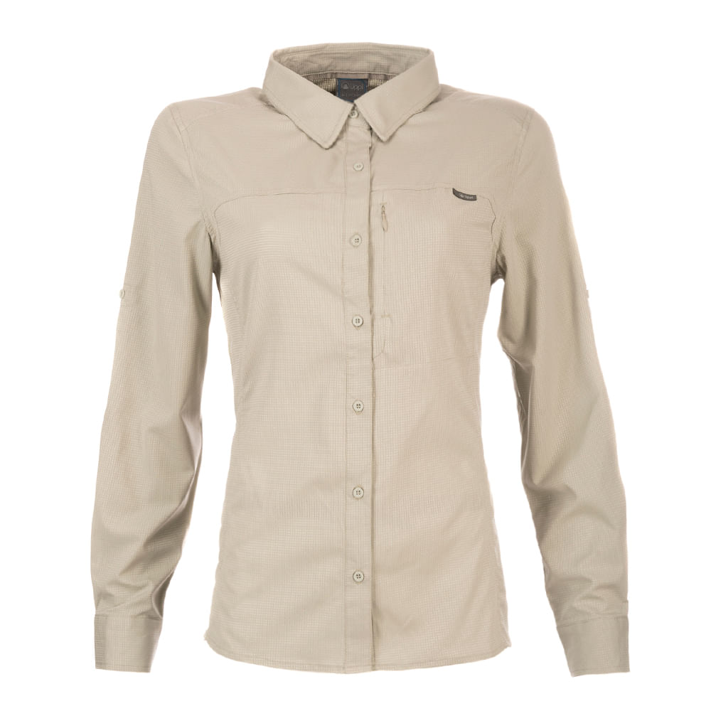 bac56d402d537 Camisa Mujer Rosselot Q-Dry Long Sleeve Shirt V19