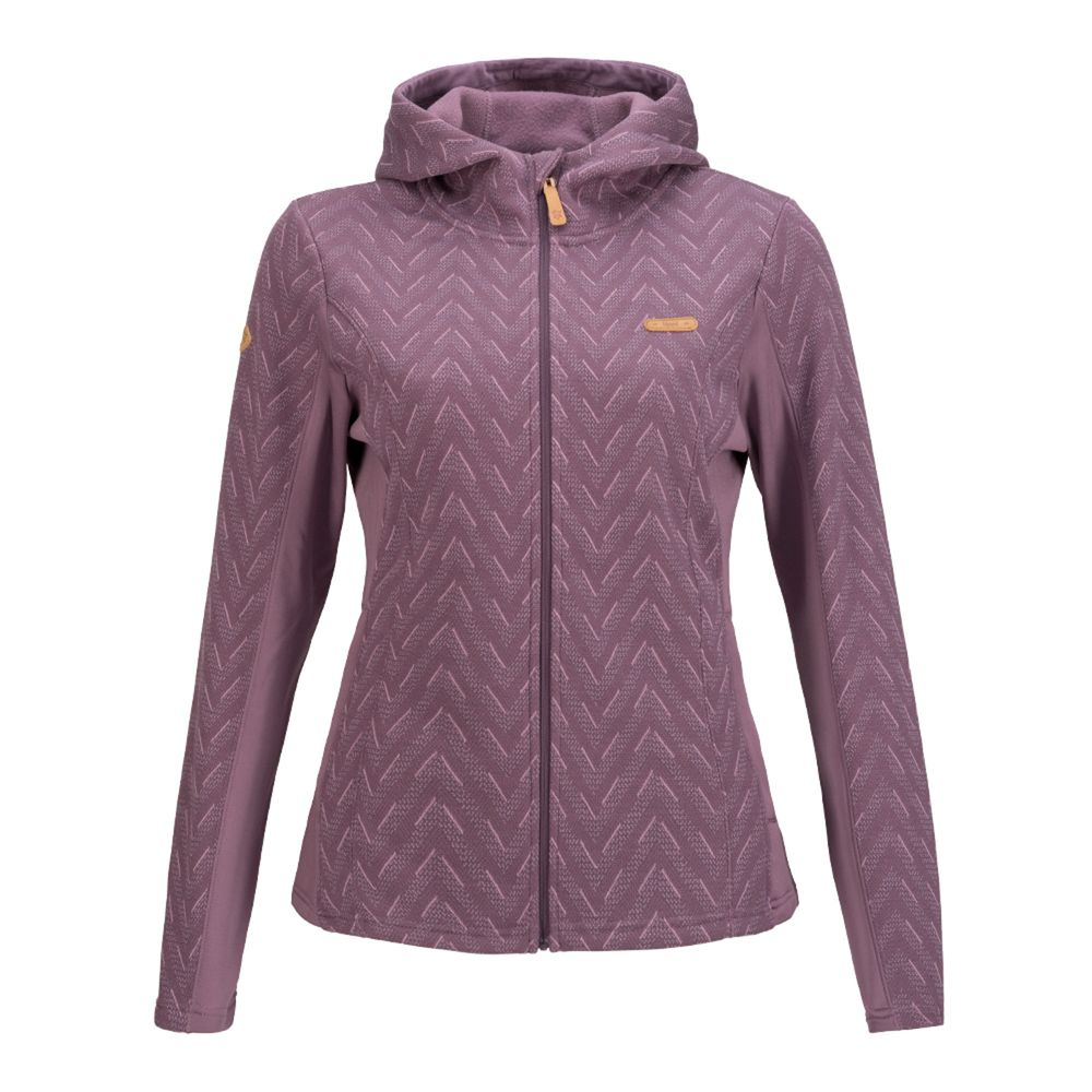 la mejor moda precios increibles precio bajo Chaqueta Mujer Herringbone Blend-Pro Hoody Jacket Uva I19 ...