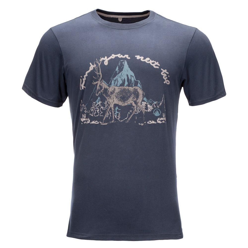 http---www.viasa.cl-Verano-202020-Lippi-SS-20-Fotos-Lippi-Hombre-Deer-UVStop-T-Shirt-Deer-UVStop-T-Shirt.-Azul1