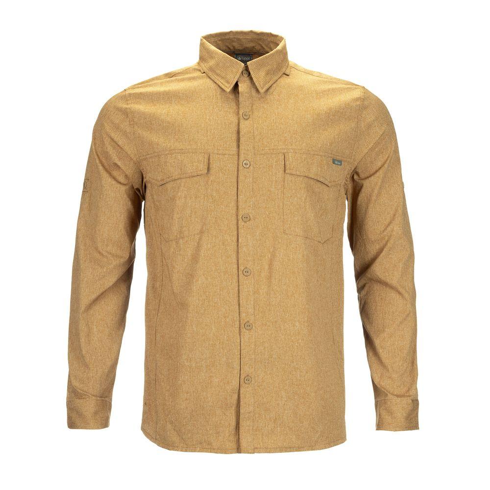 HOMBRE-LIPPI-Rosselot-Shirt-Q-Dry®-L_S-MELANGE-MOSTAZA-Rosselot-Shirt-Q-Dry®-L_S.-Melange-Mostaza.-11