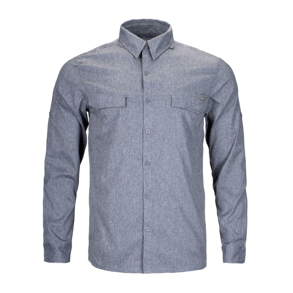 HOMBRE-LIPPI-Rosselot-Shirt-Q-Dry®-L_S-MELANGE-AZUL-Rosselot-Shirt-Q-Dry®-L_S.-Melange-Azul.-11