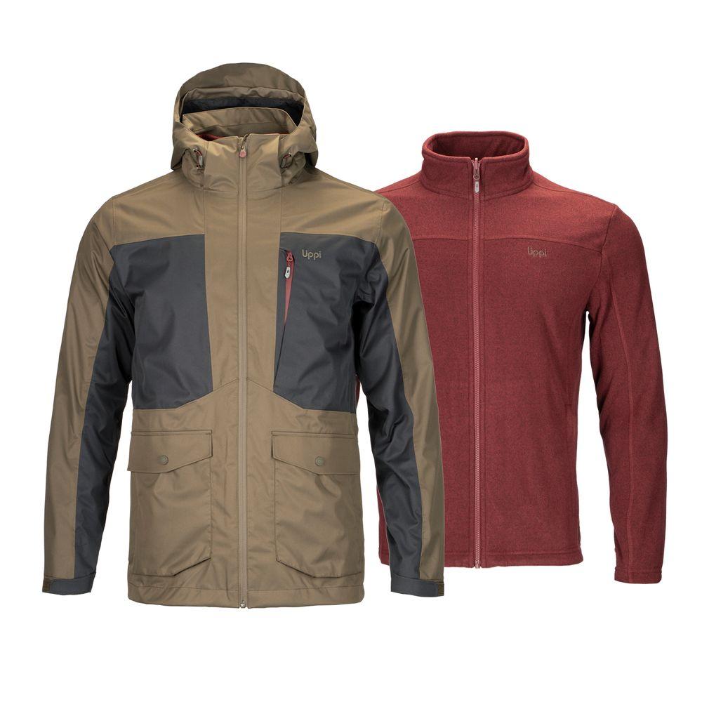 HOMBRE-LIPPI-Tres-cruces-Fusion-3®-Jacket-VERDE-_-BURDEO-Tres-cruces-Fusion-3®-Jacket.-Verde-_-Burdeo.-11
