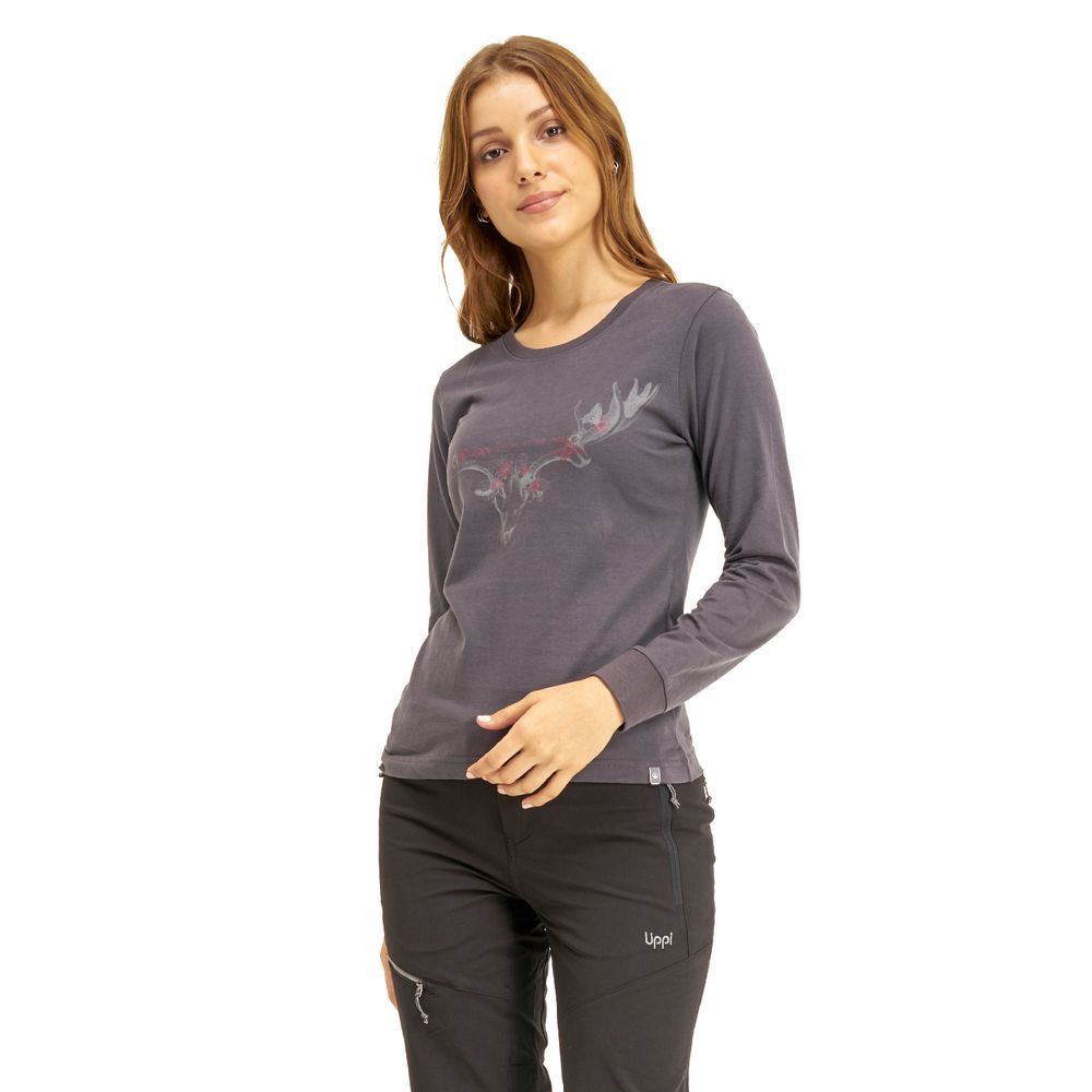 WOMAN-LIPPI-Bloom-Long-Sleeve-Cotton-T-Shirt-GRIS-OSCURO-Bloom-Long-Sleeve-Cotton-T-Shirt.-Gris-Oscuro.-22