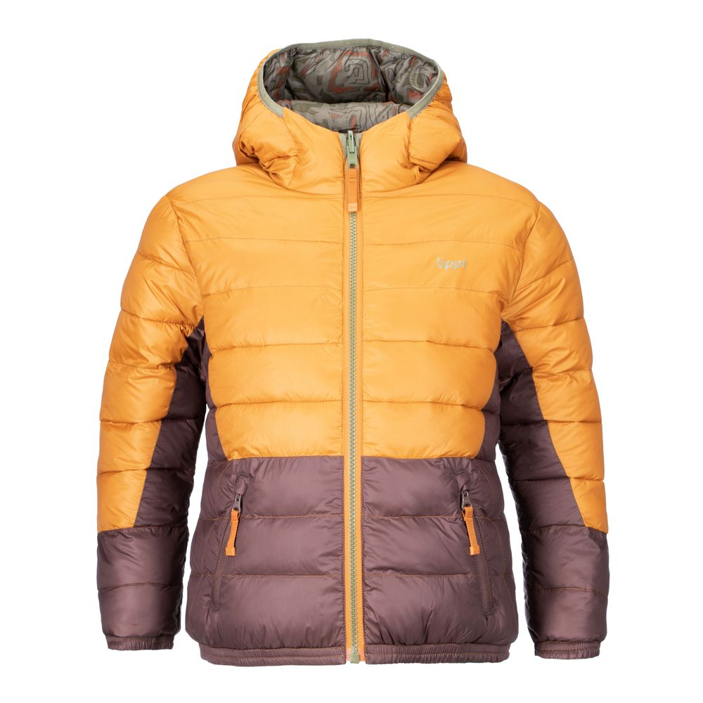 KIDS-NIÑO-Bewarm-2-Face-Hoody-Jacket-NARANJO-_-PRINT-VERDE-Bewarm-2-Face-Hoody-Jacket.-Naranjo-_-Print-Verde.-11