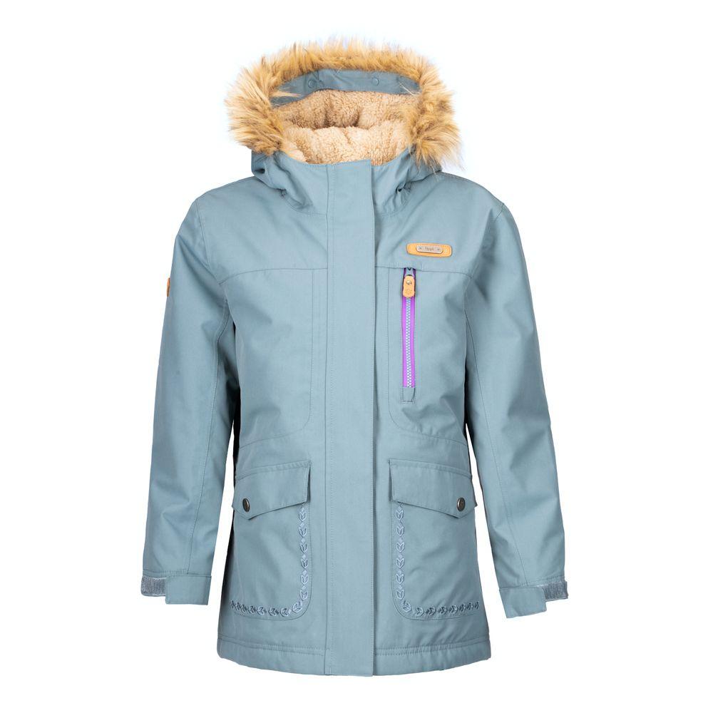 KIDS-NIÑA-Roble-B-Dry®-Hoody-Jacket-VERDE-GRISACEO-Roble-B-Dry®-Hoody-Jacket.-Verde-Grisaceo.-11