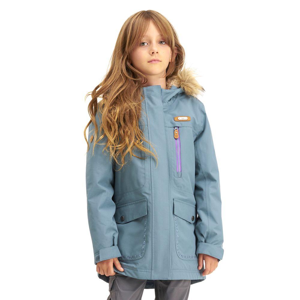 KIDS-NIÑA-Roble-B-Dry®-Hoody-Jacket-VERDE-GRISACEO-Roble-B-Dry®-Hoody-Jacket.-Verde-Grisaceo.-22