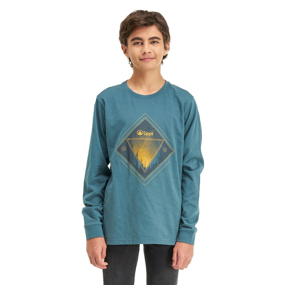 TEEN-NIÑO-Night-Sky-Long-Sleeve-Cotton-T-Shirt-TURQUESA-OSCURO-Night-Sky-Long-Sleeve-Cotton-T-Shirt.-Turquesa-Oscuro.-22