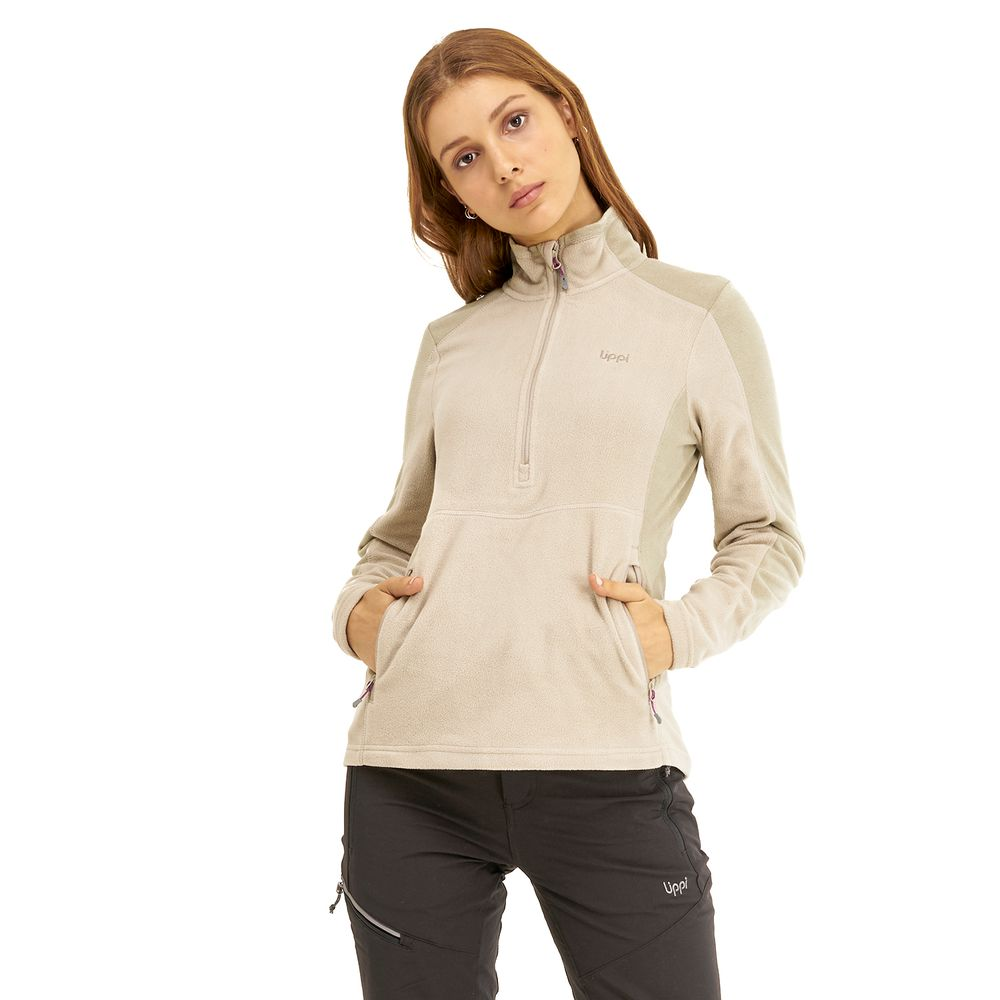 WOMAN-LIPPI-Lighter-Nano-F®-1_4-Zip-TAUPE-Lighter-Nano-F®-1_4-Zip.-Taupe.-22